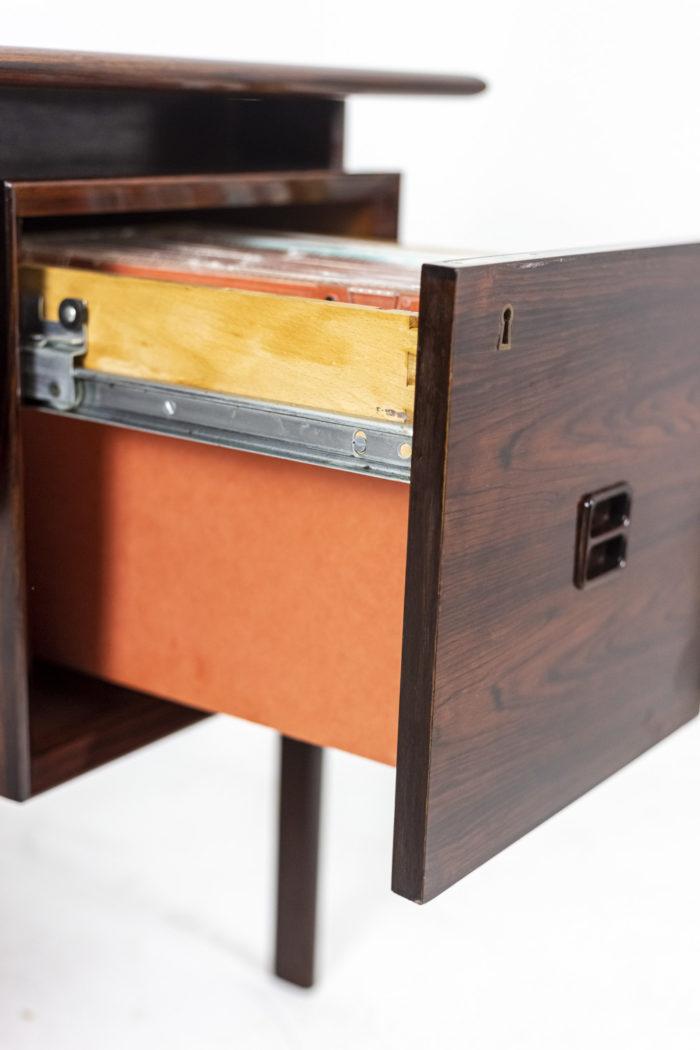 Bureau Arne Vodder, métal tiroir