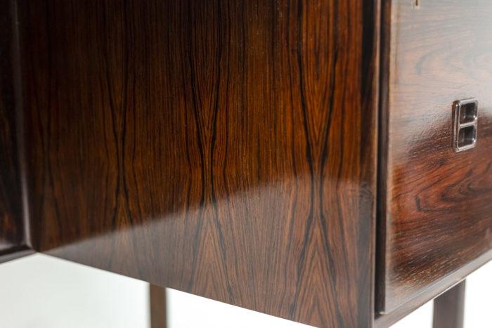 Bureau Arne Vodder, détail bois