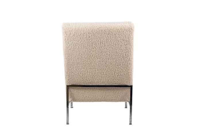 Paire de fauteuils - dos