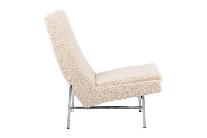 Paire de fauteuils - profil