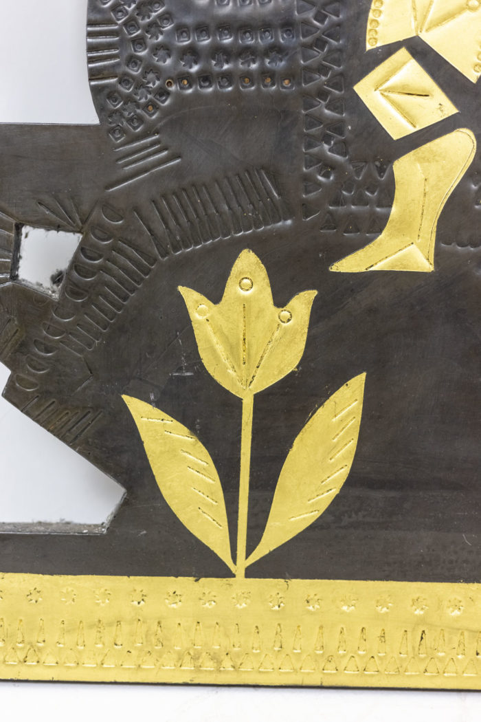 Panneau décoratif Capron - détail fleur
