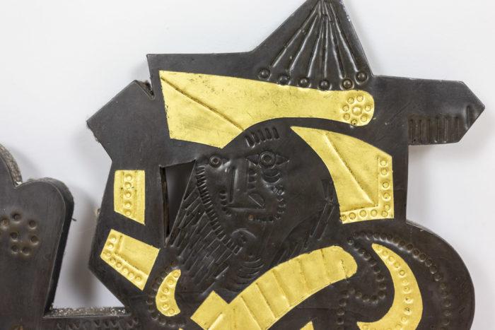 Panneau décoratif Capron - détail motif