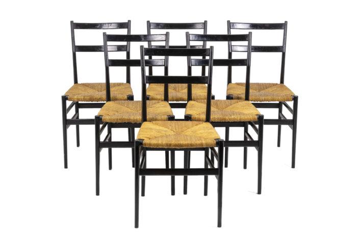 Chairs Gio Ponti - the whole