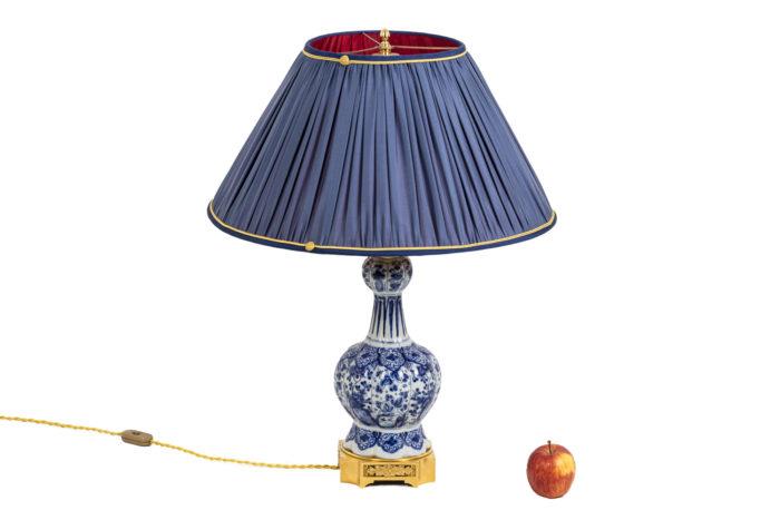 Lampe Delft - échelle