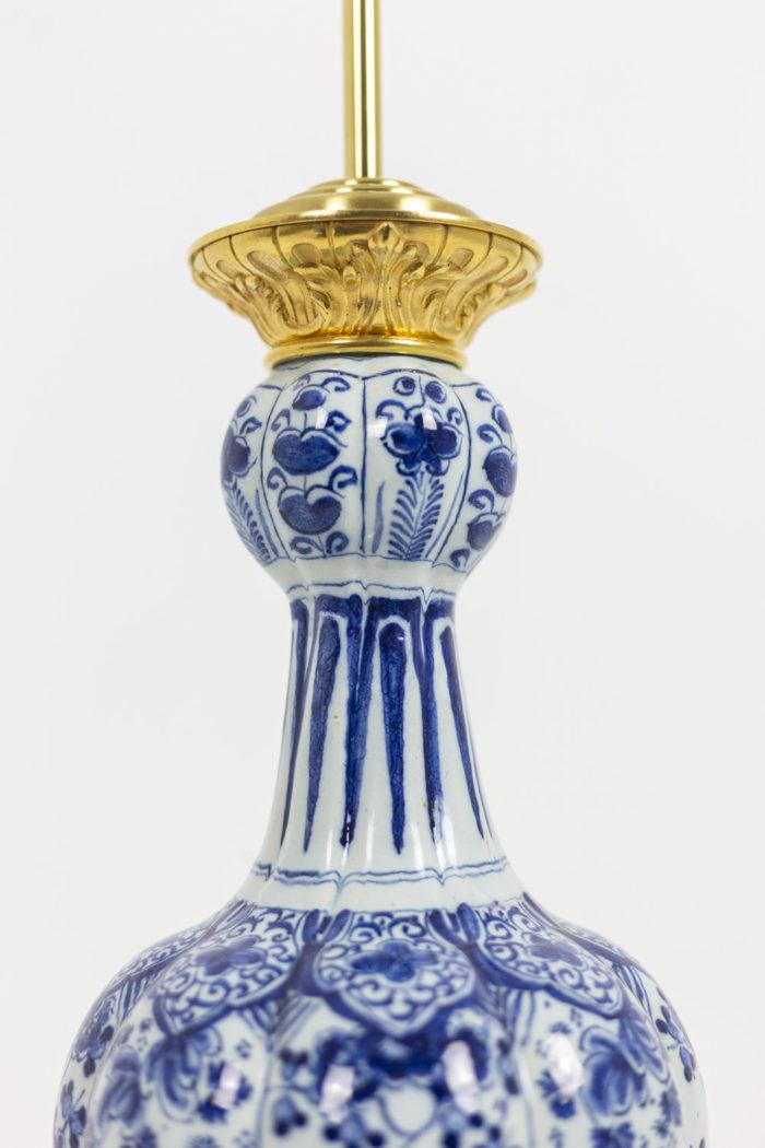 Lampe Delft - détail décor