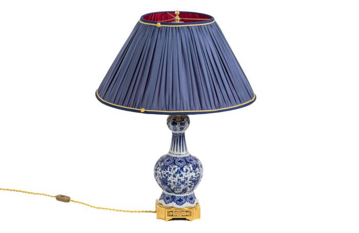 Lampe Delft - face