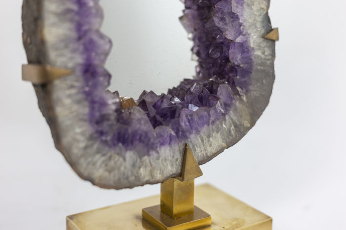 Mirror amethyst - amethyst and assembly