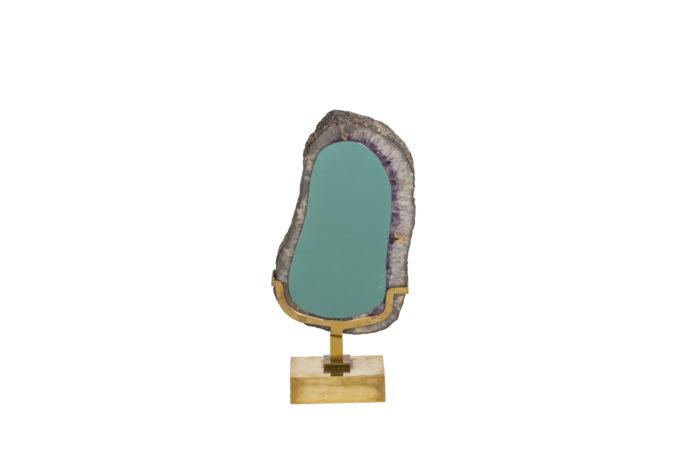 Mirror amethyst - back