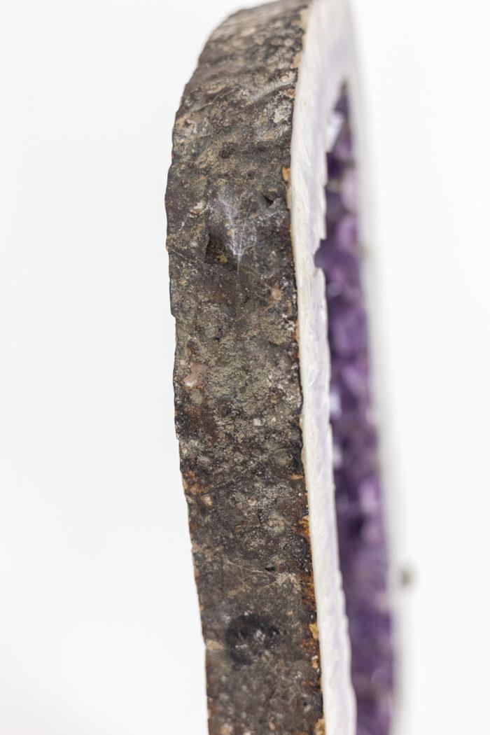 Mirror amethyst - profile of amethyst