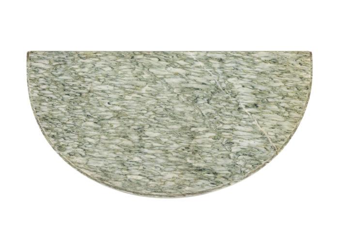 Paire de consoles - pateau de marbre 2