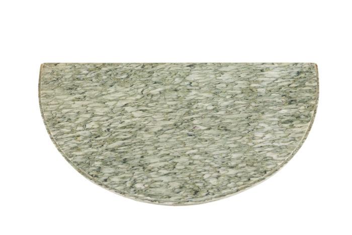Paire de consoles - plateau de marbre