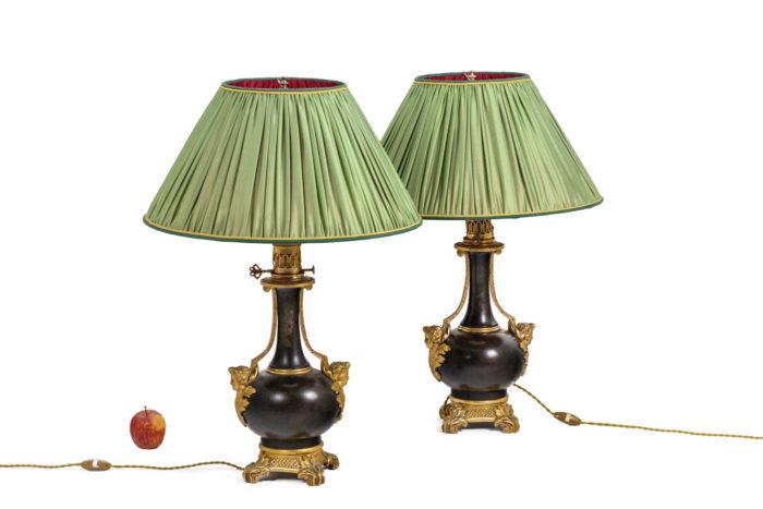 Paire de lampes - échelle