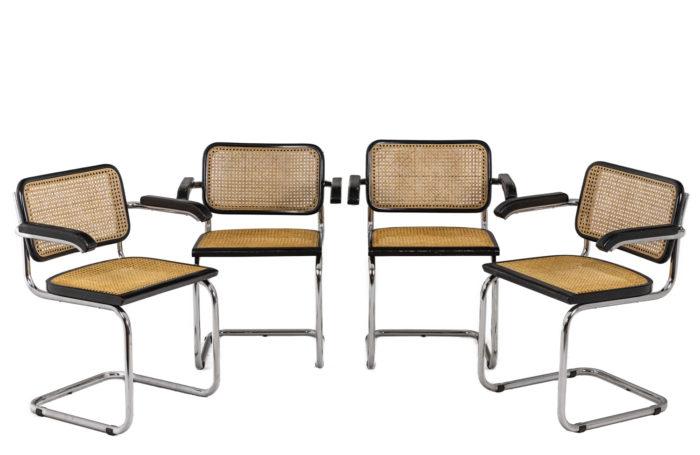 Quatre chaises Cesca - l'ensemble