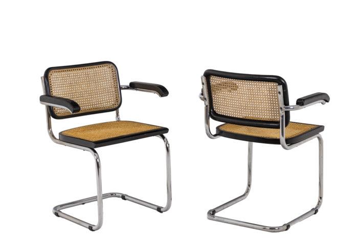 Quatre chaises Cesca - par paire