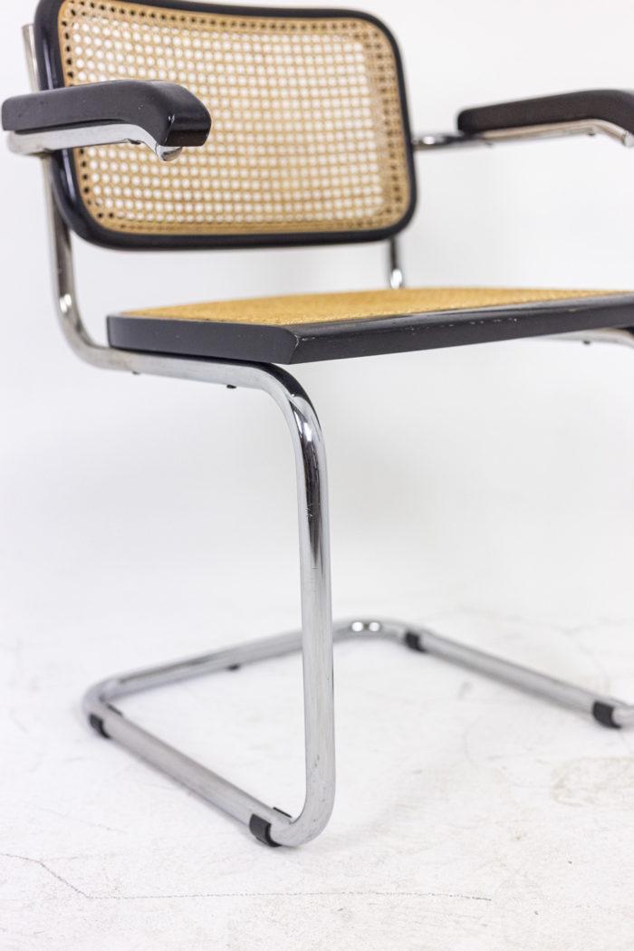 Quatre chaises Cesca - piètement