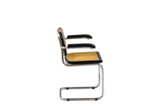 Quatre chaises Cesca - profil