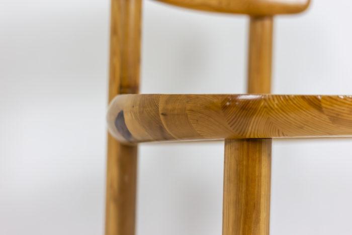 Série de quatre chaises - assise