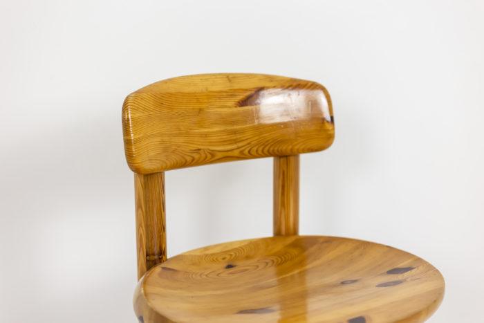Série de quatre chaises - dossier