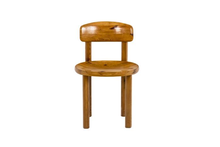 Série de quatre chaises - face