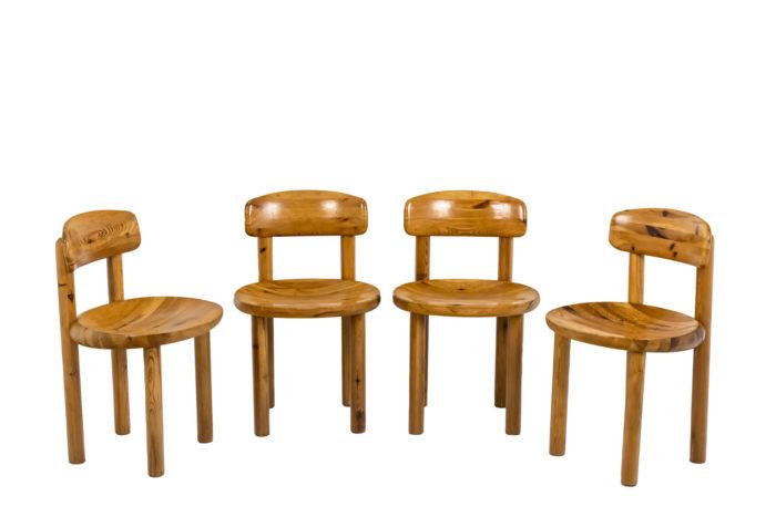 Série de quatre chaises - l'ensemble