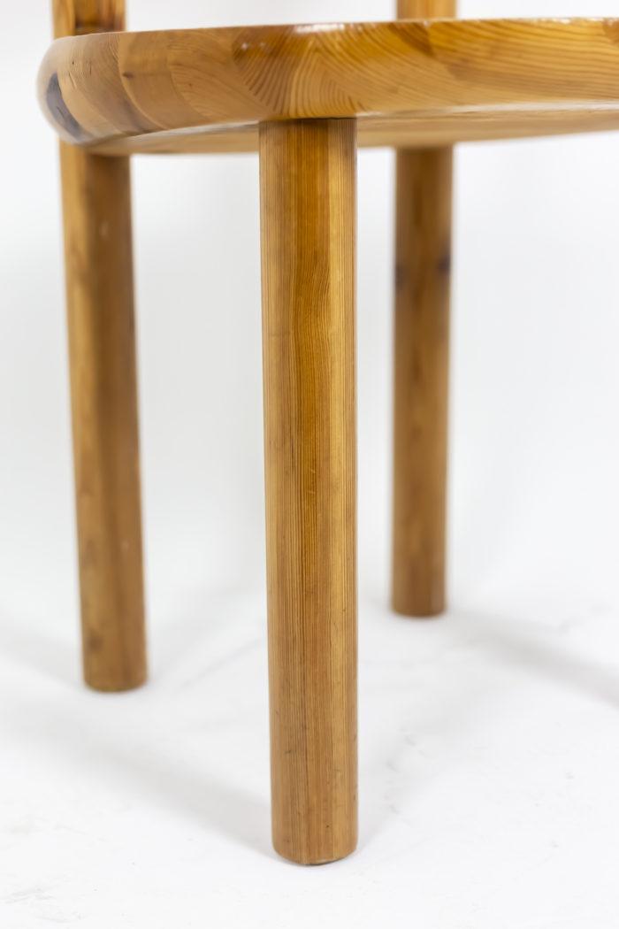 Série de quatre chaises - piètement