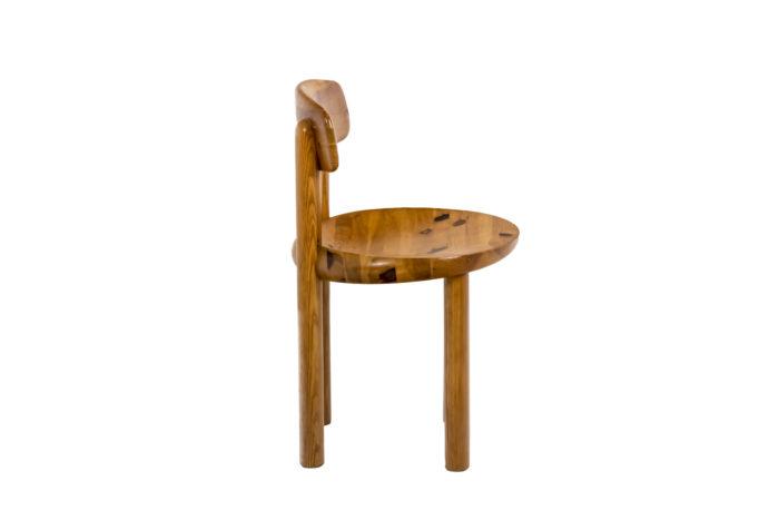Série de quatre chaises - profil