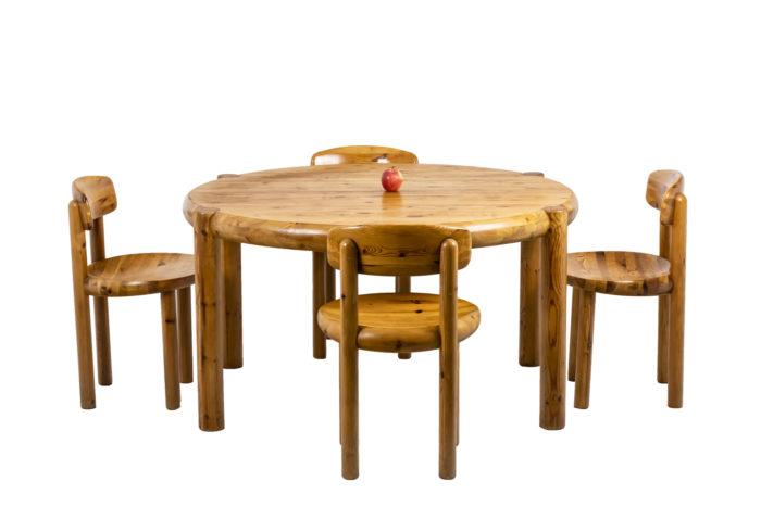 Table de salle à manger - échelle