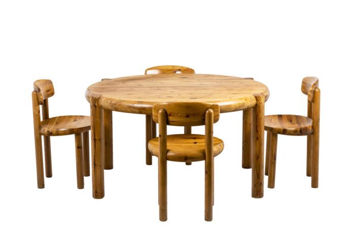 Table de salle à manger - l'ensemble