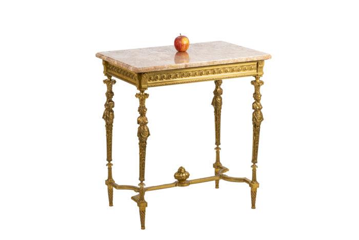 Table de salon - échelle