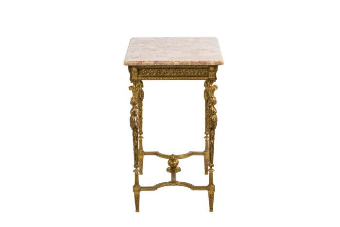 Table de salon - profil