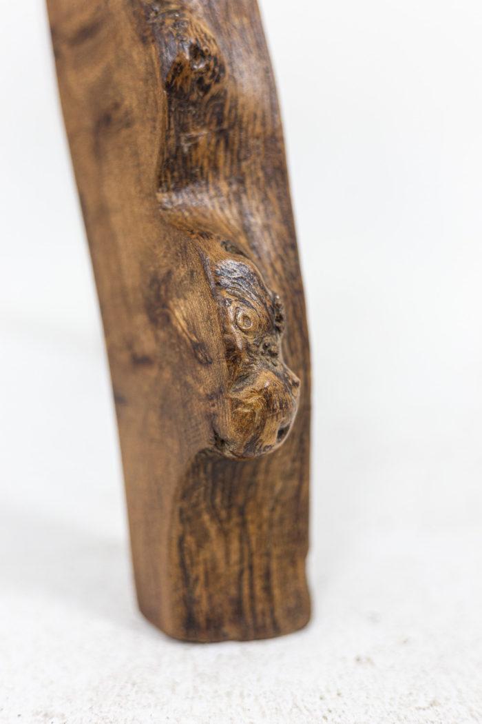 Tabourets - détail du pied