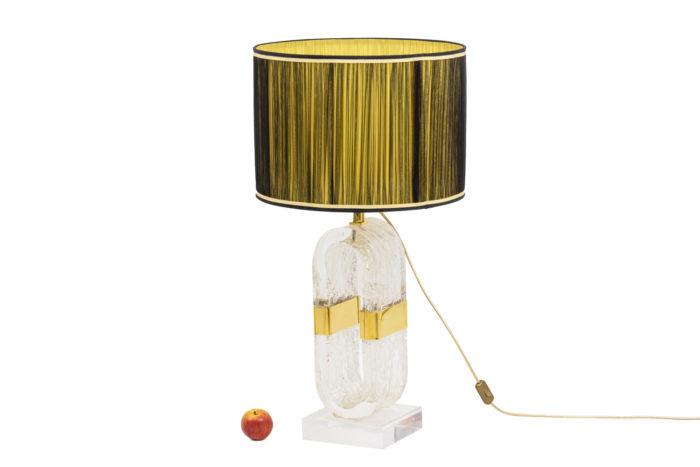 Oval lamp - ladder