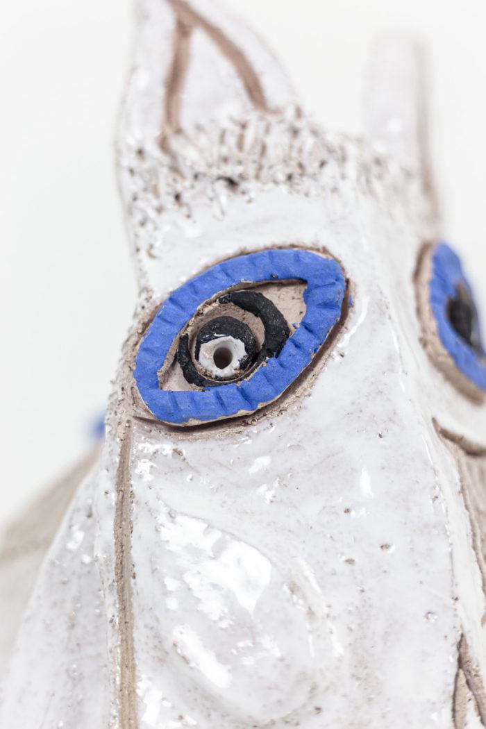 Nathalie Soufflet, yeux