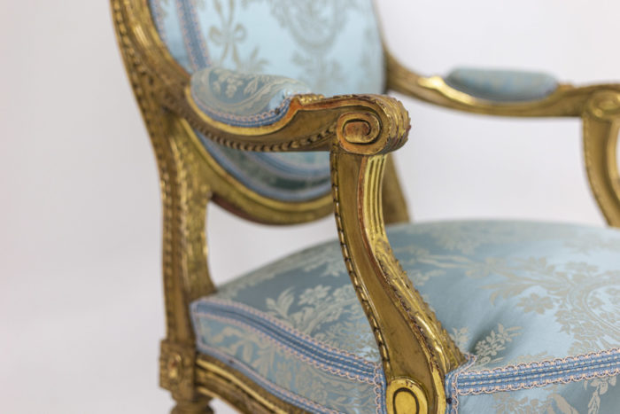 Paire of armchairs - armrests