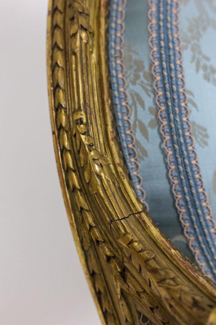 Paire de fauteuils - gilded wood
