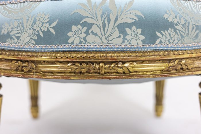 Paire of armchairs - belt