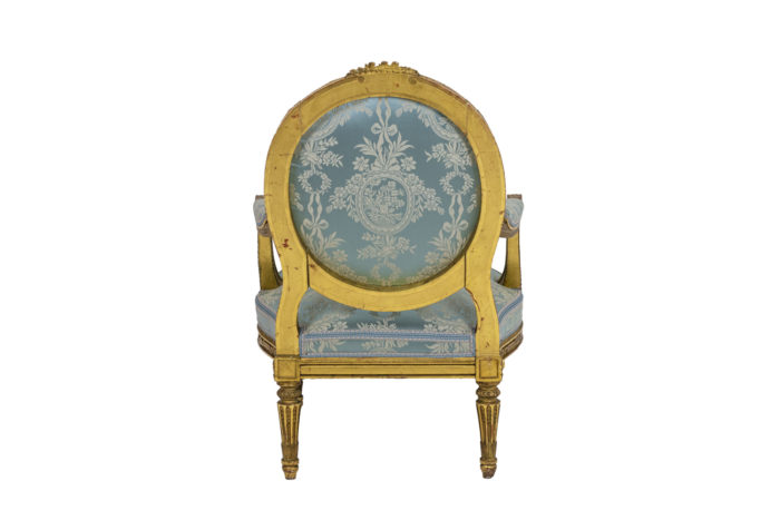 Paire of armchairs - back