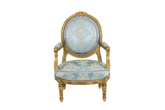 Paire of armchairs - face