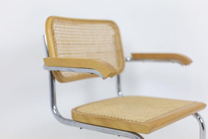Série de fauteuils Cesca - focus profil
