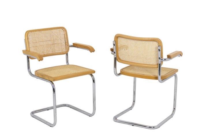 Série de fauteuils Cesca - la paire