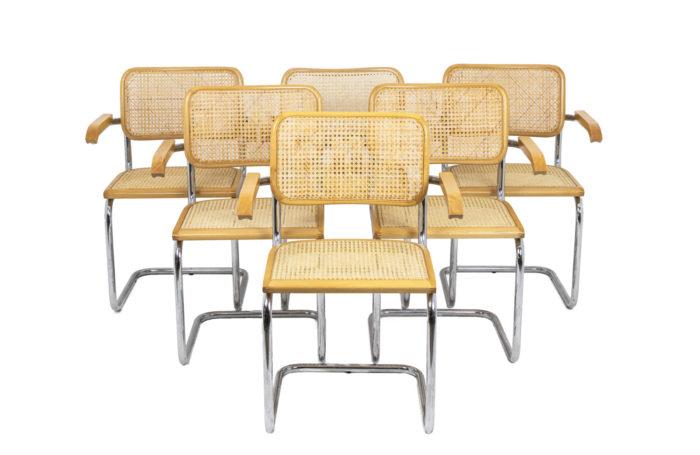 Série de fauteuils Cesca - l'ensemble