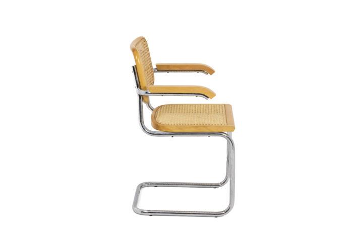 Série de fauteuils Cesca - profil