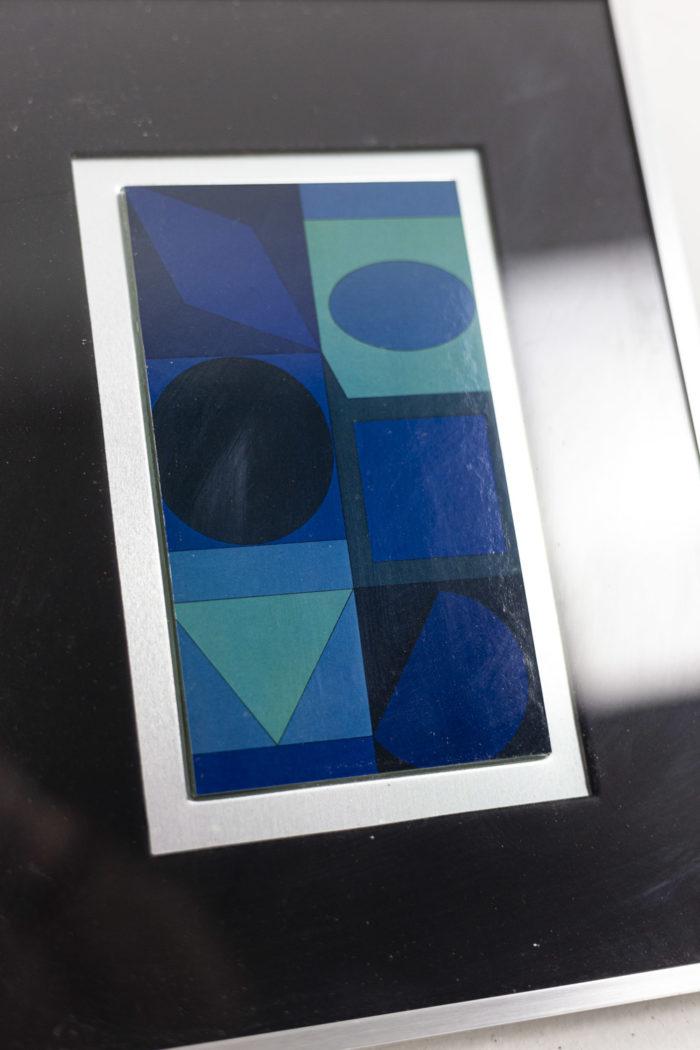 Vasarely - autre zoom
