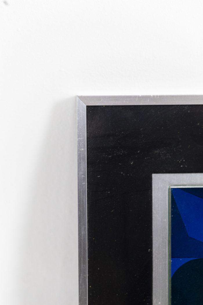 Vasarely - cadre en aluminium