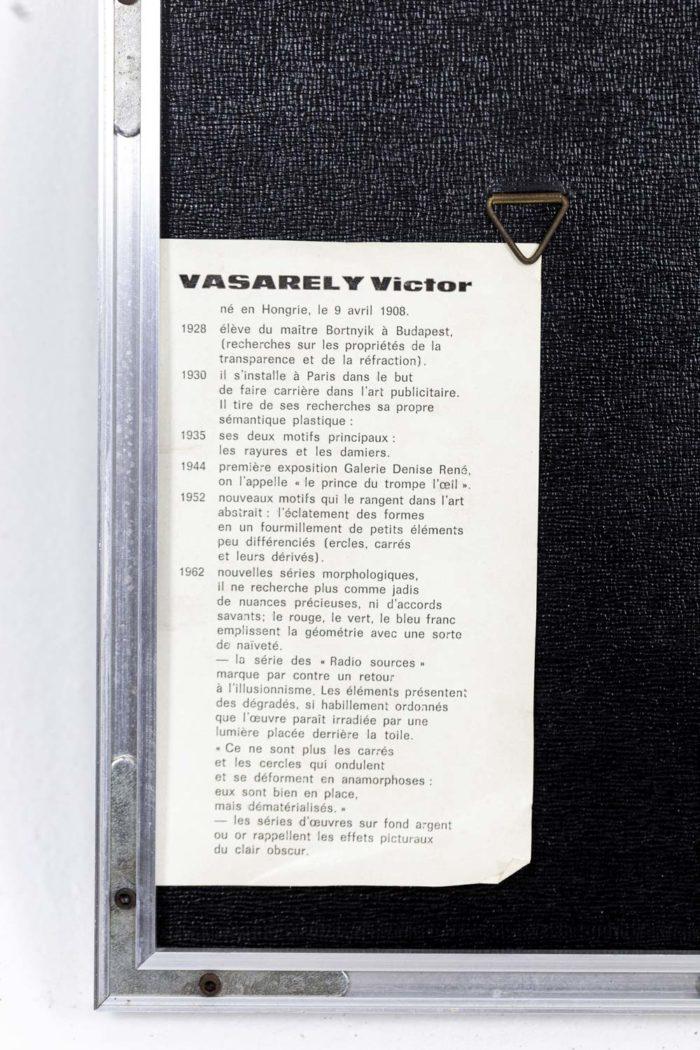 Vasarely - cartel