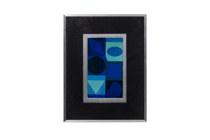 Vasarely - face