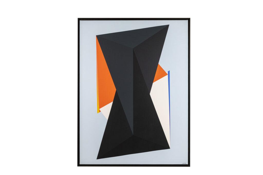 Arthur Dorval, «Explosion chromatique», travail contemporain