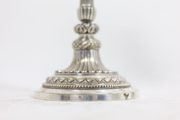 Paire de chandeliers - pied