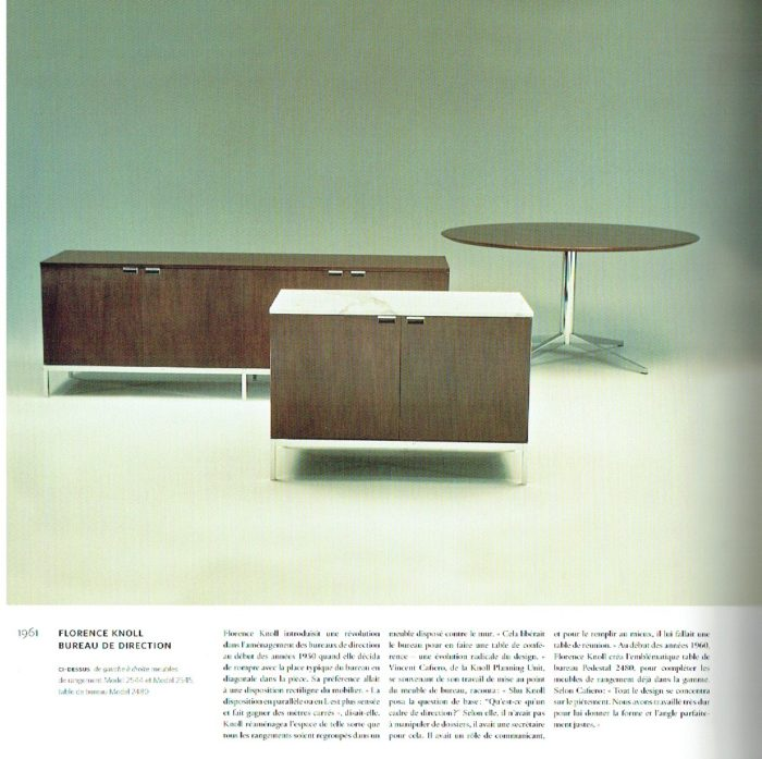 enfilade Florence Knoll